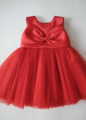Harga baju pesta anak merah happyelm melinda red | HARGALOKA.COM
