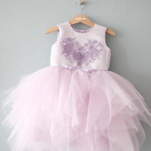 Harga baju pesta anak tutu unggu happyelm lavea purple | HARGALOKA.COM