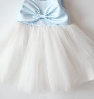 Harga baju pesta pink anak happyelm melinda pita biru | HARGALOKA.COM