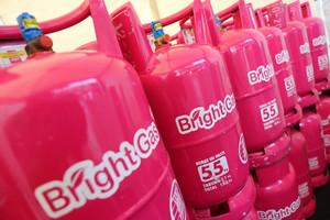 Harga tabung gas pink lpg bright gas 5 5 kg isi   khusus gojek | HARGALOKA.COM