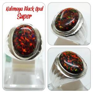 Harga cincin kalimaya black opal super jarong mantap dipakai | HARGALOKA.COM