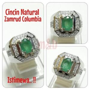 Harga cincin natural zamrud columbia kualitas istimewa harga gak bikin | HARGALOKA.COM