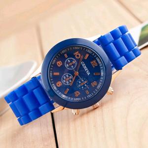 Harga jam tangan analog wanita geneva rubber   HARGALOKA.COM