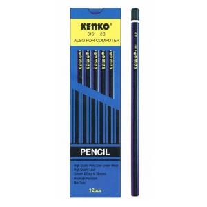 Harga pensil kayu 2b kenko 6161 grosir   HARGALOKA.COM
