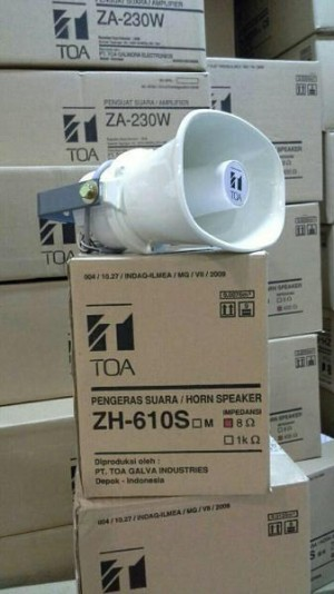 Harga speaker corong horn toa zh 610 sm original 10watt | HARGALOKA.COM