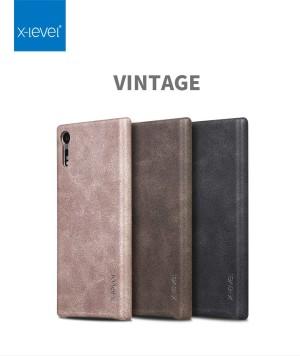 Harga hardcase soft cover vintage leather x level sony xperia xz casing x | HARGALOKA.COM