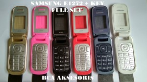 Harga casing full set samsung e1272 e 1272 back cover backdoor | HARGALOKA.COM