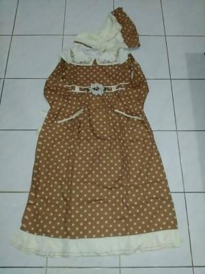 Harga dress anak saffron coklat size | HARGALOKA.COM