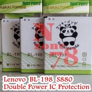 Harga battery lenovo bl198 s880 s890 double power | HARGALOKA.COM