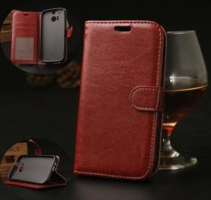 Harga htc m8 flipcover wallet flip cover card case leather vintage | HARGALOKA.COM