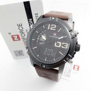 Harga jam tangan naviforce 9095 dark brown | HARGALOKA.COM