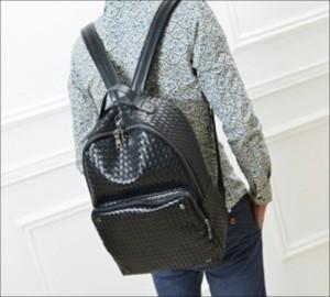 Harga troosbag a058 tas ransel impor leather black | HARGALOKA.COM