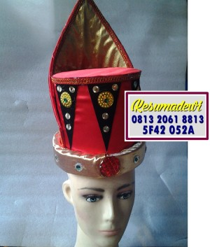 Harga topi pria aceh baju adat karnaval kostum tari anak | HARGALOKA.COM