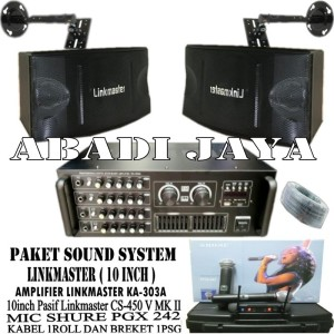 Harga murah meriah paket sound system linkmaster | HARGALOKA.COM
