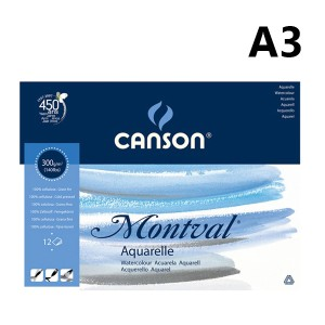 Harga Canson Montval 200gsm A3 5sht Watercolor Katalog.or.id
