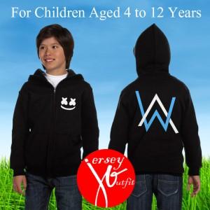 Harga jaket sweater hoodie anak alan walker feat marshmello dj exclusive | HARGALOKA.COM