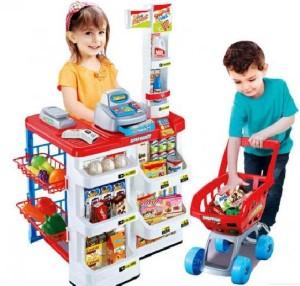 Harga mainan home supermarket playset 668 01 super market   HARGALOKA.COM