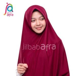Harga jilbab afra model amira ukuran s hijab khimar   HARGALOKA.COM