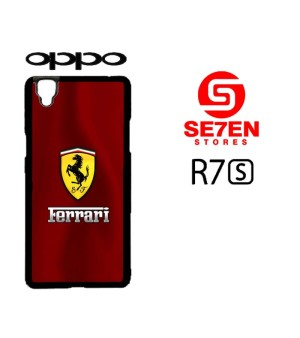 Harga casing hp oppo r7s ferrari logo custom hardcase | HARGALOKA.COM
