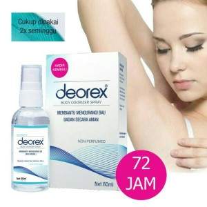 Info Deorex Body Odorizer Spray 60 Ml Katalog.or.id