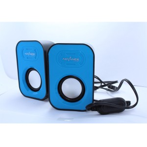 Harga speaker mini advance duo 026 murah   | HARGALOKA.COM