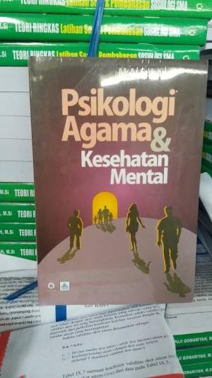 Harga psikologi agama amp kesehatan mental m a subandi pustaka | HARGALOKA.COM