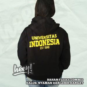 Harga jaket hoodie zipper universitas indonesia ui | HARGALOKA.COM