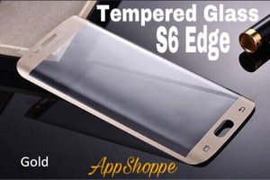 Harga tempered glass samsung galaxy s6 edge full cover screen protector | HARGALOKA.COM