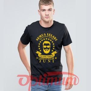 Harga tshirt kaos baju lelaki pria laki laki terbaik lahir bulan | HARGALOKA.COM