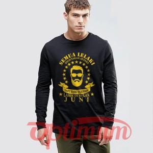 Harga kaos baju lelaki pria laki laki terbaik lahir bulan juni | HARGALOKA.COM