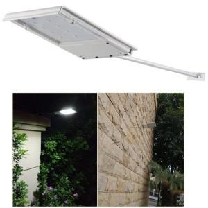 Harga lampu jalan mini 15 led tenaga surya solar taman tiang | HARGALOKA.COM
