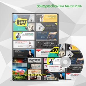 Harga template desain cover facebook twitter google plus amp marketplace   HARGALOKA.COM