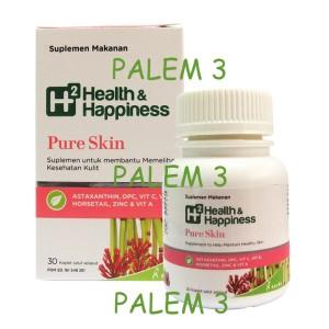 Harga h2 health amp happiness pure skin 30 39   HARGALOKA.COM