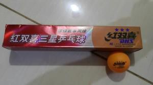 Harga bola pingpong tenis meja dhs isi 6 murah | HARGALOKA.COM