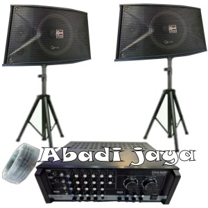 Harga murah paket sound system cleve audio 10inch siap   HARGALOKA.COM