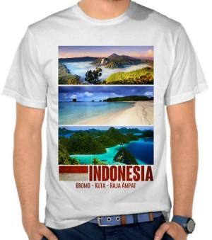 Harga kaos indonesia   paradise islands nm73w | HARGALOKA.COM