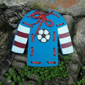 Harga mainan edukasi edukatif menjahit baju motorik halus anak sni | HARGALOKA.COM