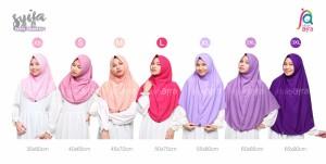 Harga jilbab afra model syifa ukuran 2xl khimar hijab   HARGALOKA.COM
