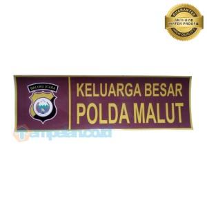 Harga stiker keluarga besar polda maluku | HARGALOKA.COM