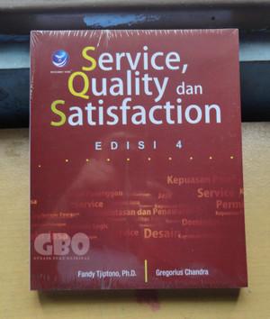 Harga buku service quality dan satisfaction edisi | HARGALOKA.COM