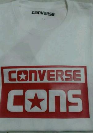 Harga kaos tshirt converse | HARGALOKA.COM