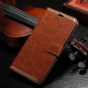 Harga leather flip cover wallet asus zenfone 2 5 5 34 ze551ml case casing hp   | HARGALOKA.COM