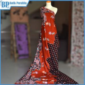 Harga kain batik tulis merah bata | HARGALOKA.COM