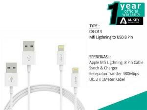 Harga aukey cb d14 lightning cable 2 pcs garansi resmi indonesia 1 | HARGALOKA.COM