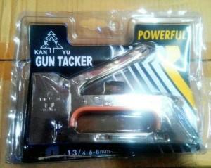 Harga gun tacker steples tembak kayu kuat amp mudah di gunakan | HARGALOKA.COM