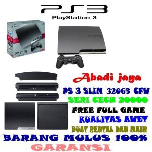 Harga promo murah ps 3 slim 320gb lengkap full game tinggal | HARGALOKA.COM