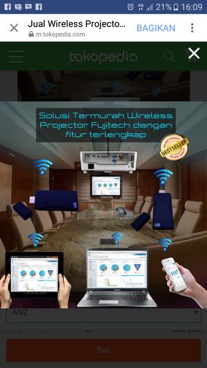 Harga werles projector joy hub | HARGALOKA.COM