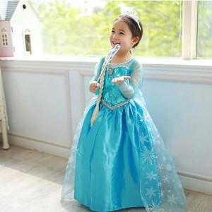 Harga baju dress frozen elsa rok gaun   2 3   HARGALOKA.COM