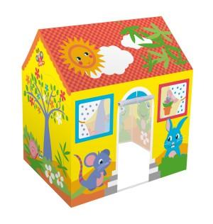 Harga tenda mainan anak bentuk rumah untuk bermain di rumah tempat | HARGALOKA.COM
