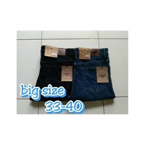 Harga celan panjang jeans hr 2307 bigsize | HARGALOKA.COM